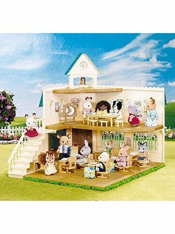 Calico Critters Berry Grove School