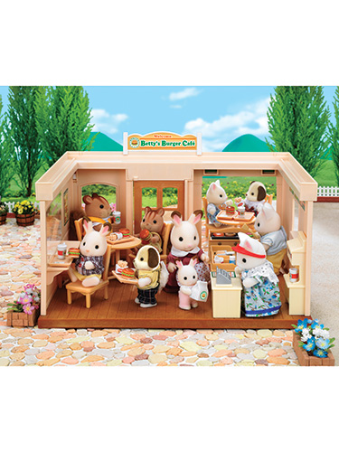 Calico Critters Burger Cafe
