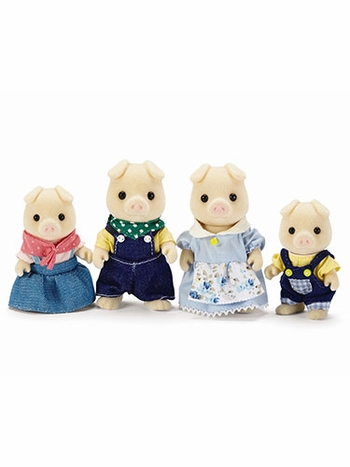 Calico Critters Oinks Pig Family