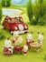 Calico Critters Roof Rack with Picnic Set