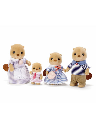 Calico Critters Sea Otter Family