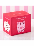 Change of Heart Ceramic Piggy Bank