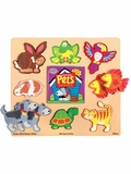 Chunky World My Favorite Pets Puzzle Book