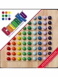 ColorKu Solid Wood Color Sudoku Puzzle