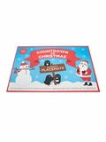 Countdown to Christmas Coloring and Activity Paper Placemats Book