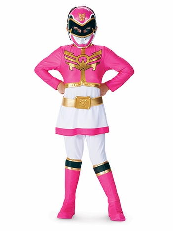 Deluxe Pink Power Ranger Megaforce Child Costume