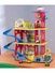 Deluxe Wooden Garage Play Set