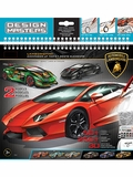 Design Masters Large Lamborghini Sketchbook