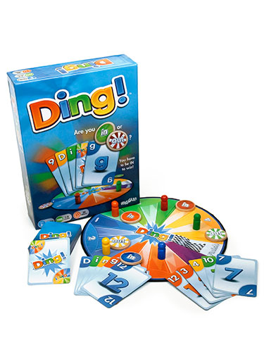 Ding! Fast-Paced, Trick-Taking Card Game