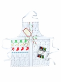 Draw On, Wash Out Christmas Apron - Adult