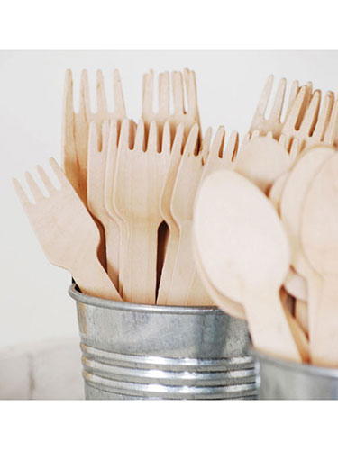 Eco-Friendly Bamboo Cutlery