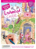Enchanted Castle Scribble Down Transfer Activity Pack