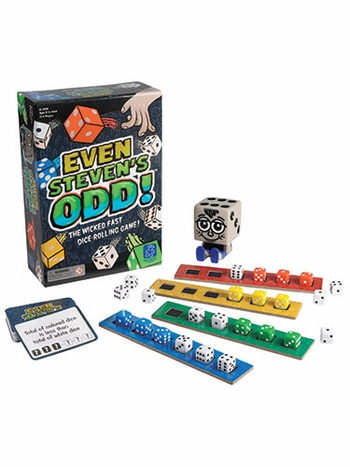Even Steven's Odd The Wicked Fast Dice-Rolling Game