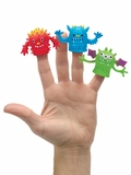Finger Freakies Little Monster Finger Puppet
