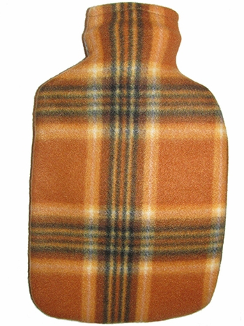 Fleece Covered Hot Water Bottle
