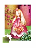 Flower Princess 24-Piece Floor Jigsaw Puzzle
