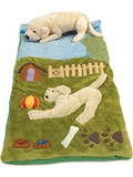 Golden Retriever Playland Slumber Bag