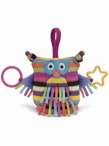 Hoot Owl Plush Activity Toy