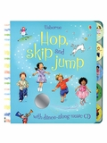 Hop, Skip and Jump Usborne Baby Board Book with Dance-Along CD