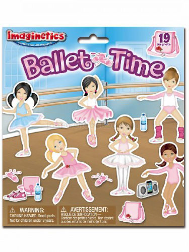 Imaginetics Ballet Time Magnetic Playboard