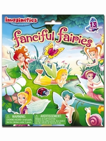 Imaginetics Fanciful Fairies Magnetic Playboard