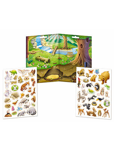 Imaginetics Forest Friends Magnetic Playboard