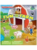 Imaginetics Fun on the Farm Magnetic Playboard