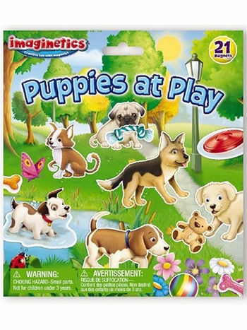 Imaginetics Puppies at Play Magnetic Playboard