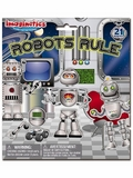 Imaginetics Robots Rule! Magnetic Playboard