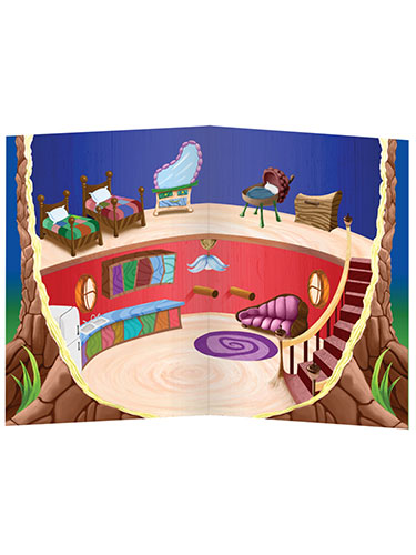 Imaginetics Tree-House Magnetic Playboard