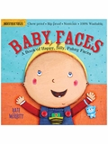 Indestructibles: Baby Faces Baby-Proof Book
