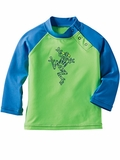 Infant Frog Rash Guard Sun Protection Top
