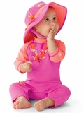 Infant Lei Sun Protection Swim Romper