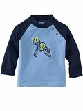 Infant Turtle Rash Guard Sun Protection Top