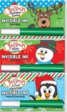 Invisible Ink Christmas Game Book