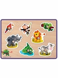 Janod Animals Sound Puzzle