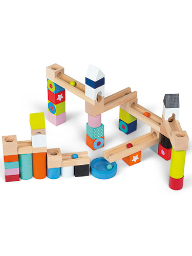 Janod Marble Run Construction Set