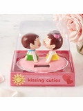 Kissing Cuties Solar Powered Kissing Figures