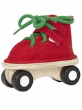 Lacing Skate Wooden Activity Toy