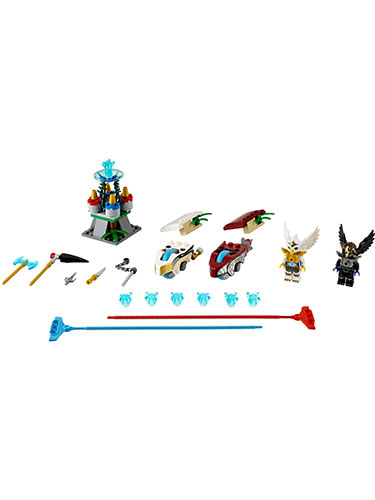 LEGO Legends of Chima Sky Joust Speedorz Mini Game 70114