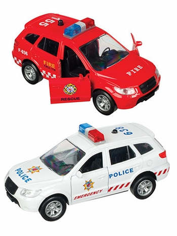 Light and Sound Emergency Vehicle