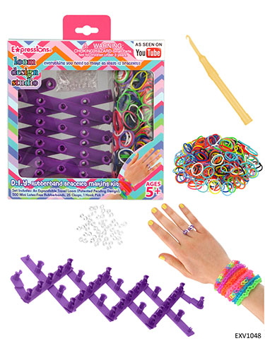 Loom Design Studio Rubber Band Bracelet Making Kit