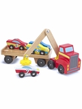 Magnetic Car Loader Wooden Play Set