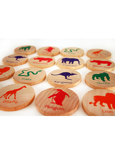 Match Stacks Zoo Animals Memory and Matching Game