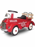 Metal Speedster-Fire Ride-On Fire Truck