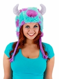 Monsters University Sulley Deluxe Hoodie Hat