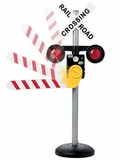 Motion Activated Talking RR Crossing Sign