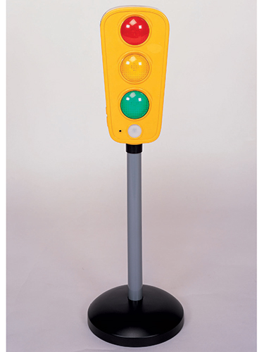 Motion Activated Talking Traffic Light