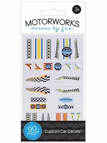 MOTORWORKS Custom Car Decals 1.0