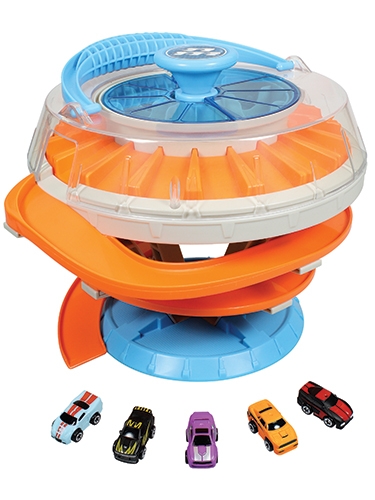Nitro Micro Vehicles 2-in-1 Carrying Case Playset